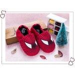 รองเท้าเด็กอ่อน 0-12เดือน ลายการ์ตูน สไปรเดอร์แมน size 11 cm