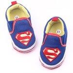 รองเท้าเด็กอ่อน 0-12เดือน ลายการ์ตูน ลาย Super MAN size 11 cm