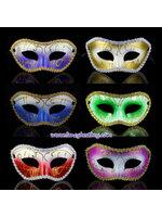 หน้ากากแฟนซี, หน้ากากปาร์ตี้ สำหรับประกอบชุดไปงานปาร์ตี้ ขนาด 24 * 9 ซม. มีหลายสี