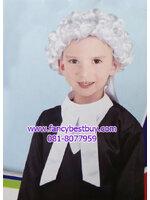 ชุดแฟนซีทนายความ พร้อมอุปกรณ์วิกผมขาว Lawyer ใส่ได้ทั้งเด็กชายหญิง (ชุด+วิกผม) ฟรีไซด์ สำหรับเด็ก 90-125 ซม. อายุ 3-7 ขวบ