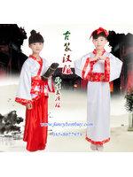 ชุดประจำชาติจีน ชุดจีนย้อยยุค ชุดบัณฑิตจีนคู่เด็กชายและเด็กหญิง มี ขนาด 110, 120, 130