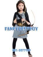 ชุดแฟนซีเด็ก จาก Hunger Games - แคตนิส เอฟเวอร์ดีน Katniss Everdeen มีขนาด M, L. XL
