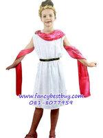 ชุดแฟนซีเด็ก ชุดประจำชาติกรีก-โรมัน สำหรับใช้เป็นชุดประจำชาติอาณาจักรกรีก-โรมัน M 110-130, L 130-145 ซม.