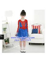 ชุดสไปร์เดอร์เกิร์ล Spider Girl แฟนซีเด็ก มีขนาด L, XL