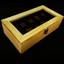 กล่องใส่นาฬิกางานไม้สน บุสีน้ำตาล มีกุญแจล็อกสีเงิน (สินค้าพร้อมส่ง) จัดส่งฟรี thumbnail 3