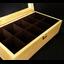 กล่องใส่นาฬิกางานไม้สน บุสีน้ำตาล มีกุญแจล็อกสีเงิน (สินค้าพร้อมส่ง) จัดส่งฟรี thumbnail 6