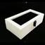 กล่องใส่นาฬิก่งานไม้สนทำสีขาว ภายในบุกำมะหยี่สีดำ มีกุญแจล็อก (มีสินค้าพร้อมส่ง) จัดส่งฟรี thumbnail 4