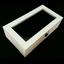 กล่องใส่นาฬิก่งานไม้สนทำสีขาว ภายในบุกำมะหยี่สีดำ มีกุญแจล็อก (มีสินค้าพร้อมส่ง) จัดส่งฟรี thumbnail 7