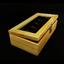 กล่องใส่นาฬิกางานไม้สน บุสีน้ำตาล มีกุญแจล็อกสีเงิน (สินค้าพร้อมส่ง) จัดส่งฟรี thumbnail 1