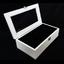 กล่องใส่นาฬิก่งานไม้สนทำสีขาว ภายในบุกำมะหยี่สีดำ มีกุญแจล็อก (มีสินค้าพร้อมส่ง) จัดส่งฟรี thumbnail 1