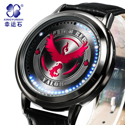 นาฬิกาจอสัมผัส LED Pokemon (ทีมสีแดง)**ของแท้**