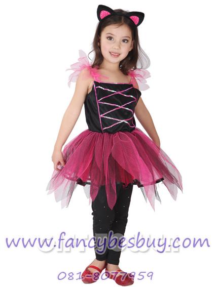 ชุดปีศาจน้อยแสนสน Naughty Devil Costume แฟนซีเด็ก สำหรับวันฮาโลวีน มีขนาด M, L, XL