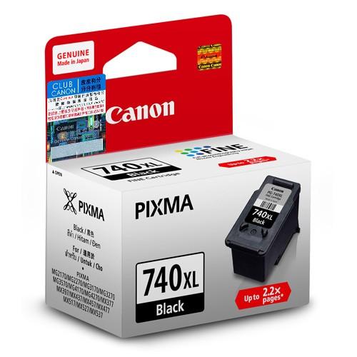 Canon PG-740XL ตลับหมึกอิงค์เจ็ท สีดำ Black Original Ink