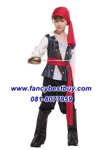 ชุดแฟนซีเด็กโจรสลัดน้อย Litlte Pirate มีขนาด M, L, XL