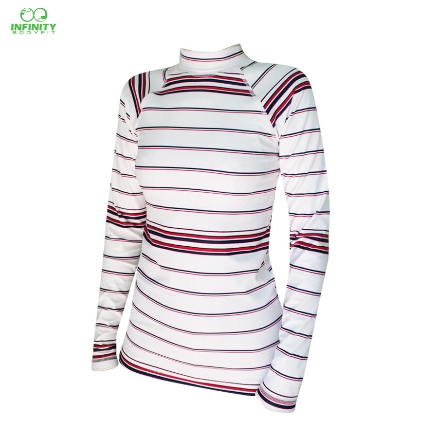 base layer ลาย double stripe on white