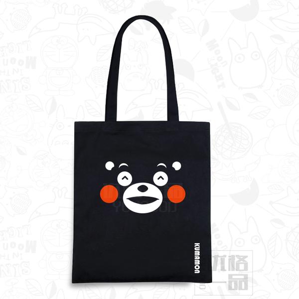 กระเป๋าผ้าคุมะมง Kumamon(แบบมีซิบ)