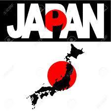 ผลการค้นหารูปภาพสำหรับ Map Of Japan And Japan Flag