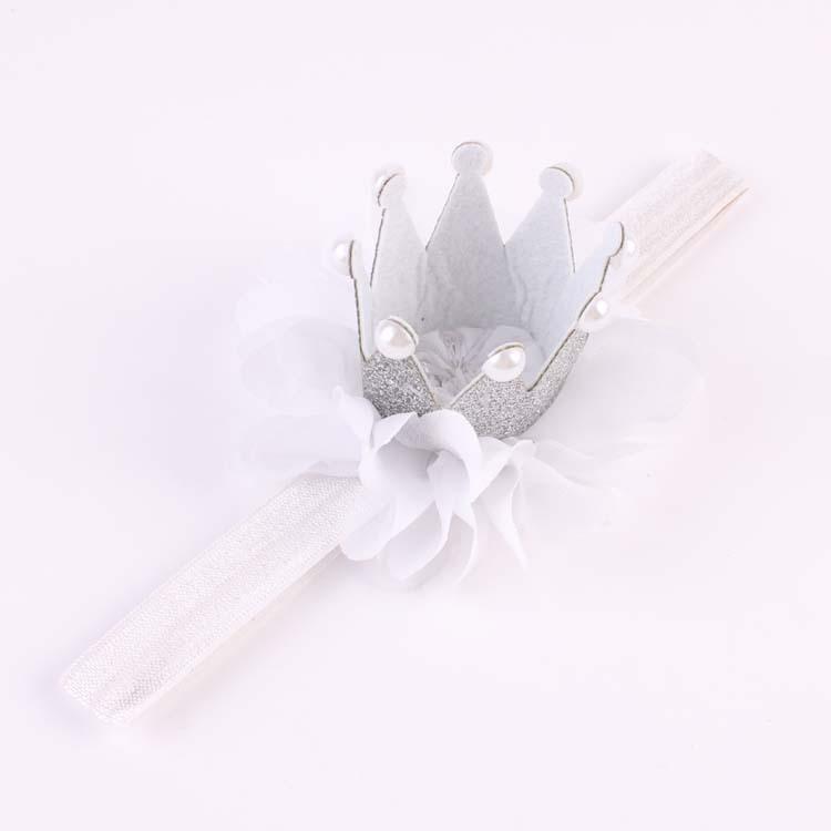 สายคาดผมสีขาว รูปมุงกุฎเจ้าหญิง น่ารักมากๆค่ะ