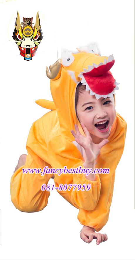 ชุดแฟนซีมังกร ชุดแฟนซีสัตว์เด็กหรือชุดมาสคอต สำหรับการแสดง ใช้ได้ทั้งเด็กชายหญิง มี ขนาด M, L, XL