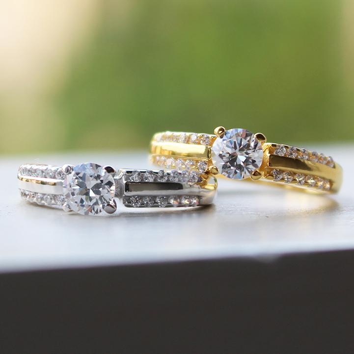 แหวนคู่ แหวนหมั้น แหวนแต่งงาน TSR171,172