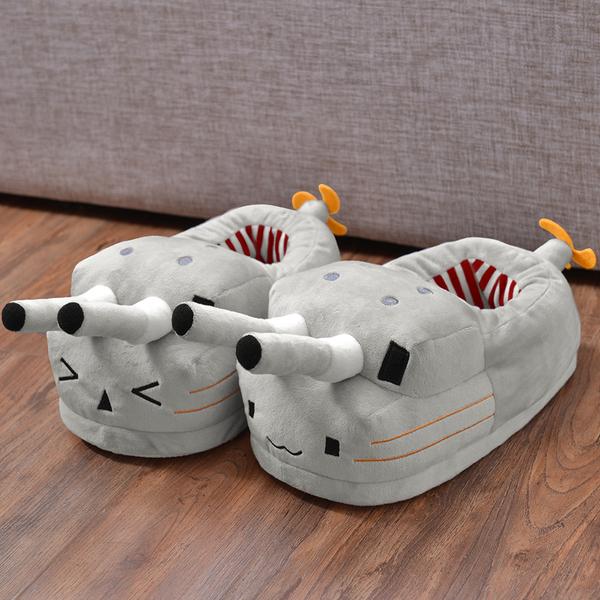 รองเท้าผ้าฝ้ายการ์ตูน (Kantai Collection)