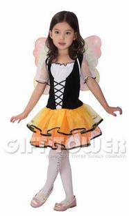ชุดเด็กแฟนซีเจ้าหญิงน้อยผีเสื้อ ขนาด M, L, XL (รุ่นนี้ ขนาดไม่ใหญ่ สามารถเลือกใหญ่ขึ้น 1 เบอร์ได้)