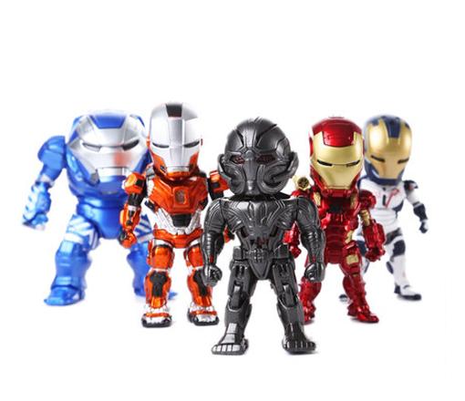 โมเดลไอรอนแมน Ironman 3(ชุดที่ 8) ในชุดมี 5 ตัว/ชุด
