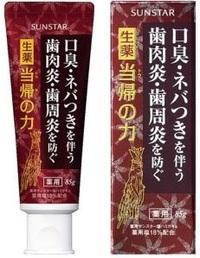 Sunstar Periodontal Disease Toothpaste ยาสีฟันแก้รำมะนาดจากญี่ปุ่น (โรคปริทันต์) ป้องกันกลิ่นปากได้ทั้งวันและป้องกันฟันผุผสมไวท์เทนนิ่งทำให้ฟันขาวเหงือกและฟันแข็งแรง ปากหอมตลอดวันค่ะ