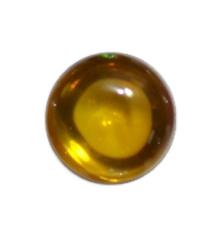 เพชรพญานาค ขนาด 1 ซม สีเหลือง
