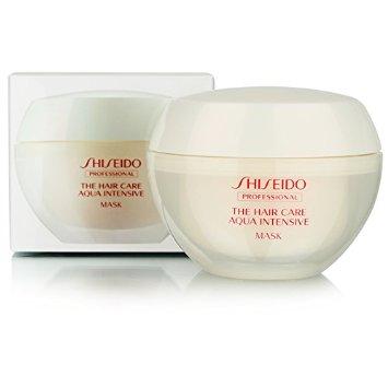 Shiseido Aqua Intensive Oil Mask ครีมหมักผมเข้มข้นไปด้วยอาหารผมสำหรับผมเสียจาการทำสี ดัด ยืด ด้วยเทคนิคเฉพาะจาก Shiseido สามารถเปลี่ยนผมเสียที่เกิดจากการสูญเสียน้ำเนื่องจากการผ่านความร้อน การทำสีผม การถูกเคมีของเส้นผม ให้กลับมามีชีวิตชีวาฟื้นฟูเส้นผมเส้นต