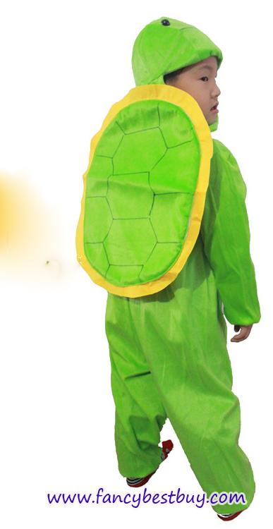 ชุดเต่า Tortoise ชุดแฟนซีสัตว์เด็กหรือชุดมาสคอต สำหรับการแสดง ใช้ได้ทั้งเด็กชายหญิง (รุ่นใหม่ ผ้าสีเข้มกว่ารูปหน่อย) มี ขนาด M, L, XL