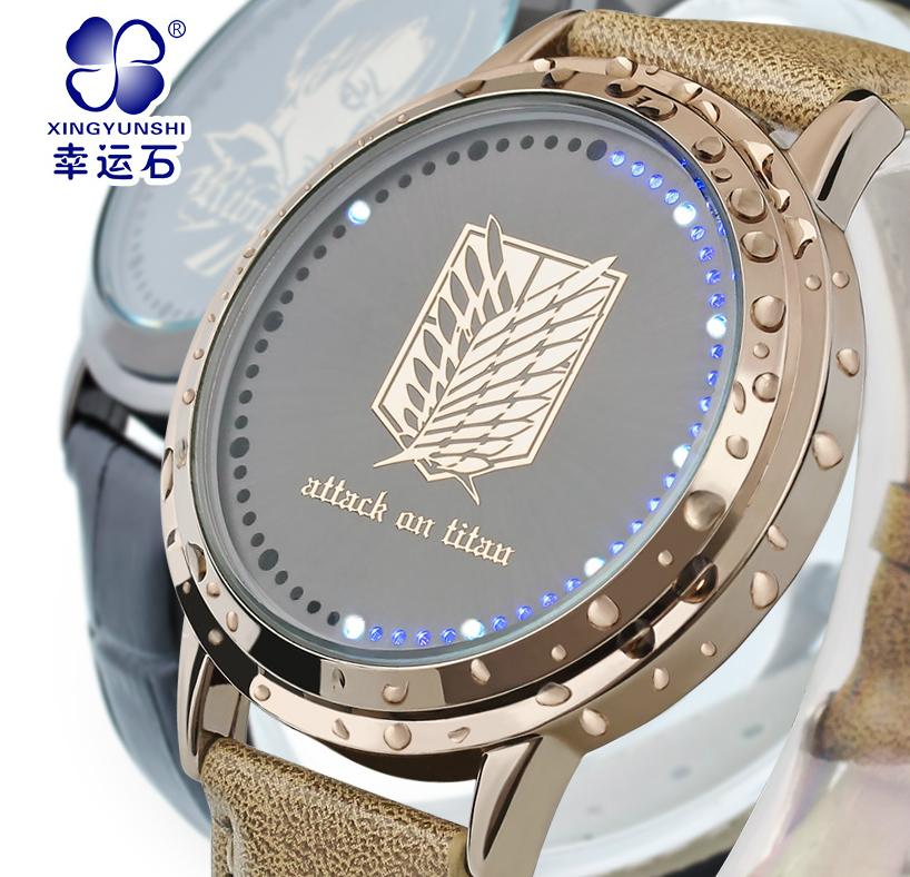 นาฬิกา LED จอสัมผัส (ลิขสิทธิ์แท้) ผ่าภิภพไททั่น แบบ 3