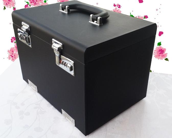 (พร้อมส่ง) กล่องหนังใส่เครื่องประดับ ล็อกด้วยรหัส สีสดและสวย มาใหม่ๆๆ พร้อมส่งเลยจ้า !!!!