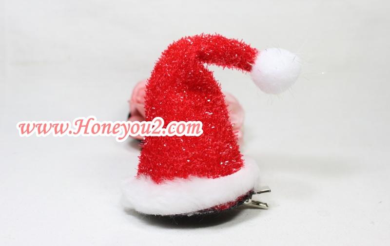 กิ๊บแฟนซี หมวกซานตาครอสฟรุ้งฟริ้ง