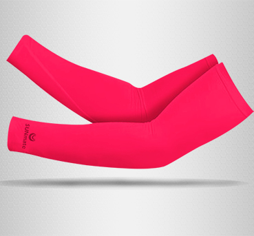 ปลอกแขนกัน UV size L : Lady Pink