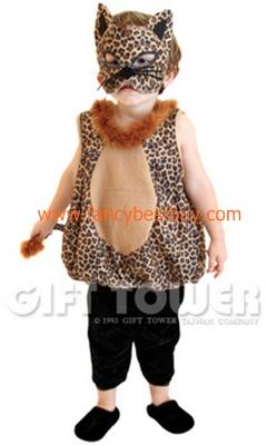 ชุดแฟนซีเสือดาวน้อย เป็นชุดแฟนซีสัตว์สำหรับเด็กเล็ก สำหรับการแสดง Playful Little Leopard ใช้ได้ทั้งเด็กชายหญิง ขนาด S, M