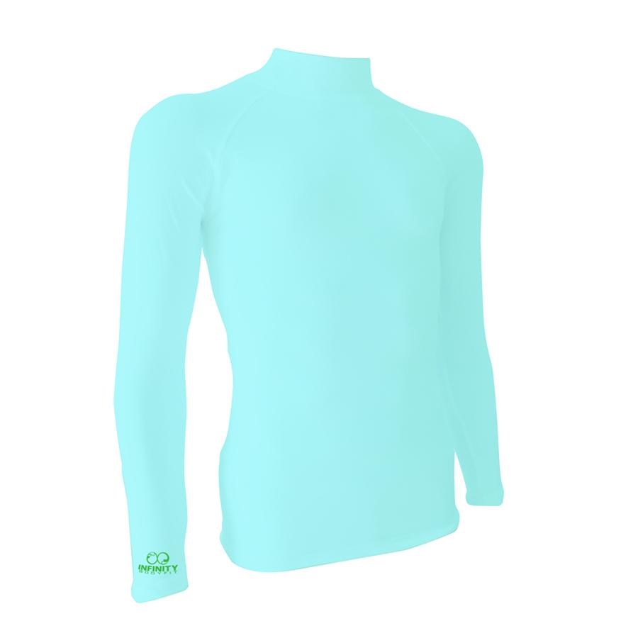 base layer สีBright blue-green