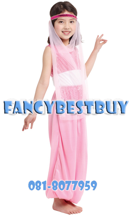 ชุดเจ้าหญิงอาหรับ เป็นชุดแฟนซีประจำอาหรับ Arabian Princess ขนาด M, L, XL