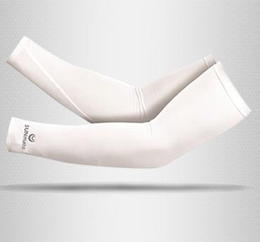 ปลอกแขนกัน UV size XL : Ultra White