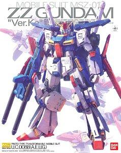 :MG 1/100 ZZ Gundam Ver Ka 6000yen