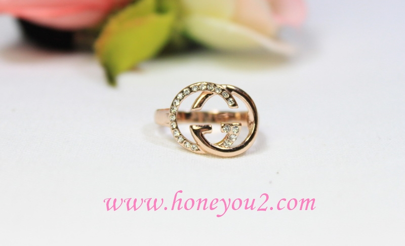 แหวน GG pink gold