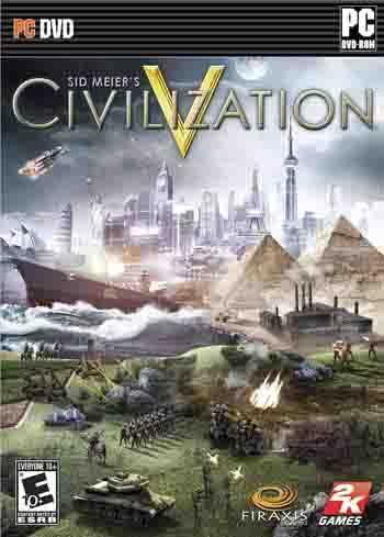 Sid Meier's Civilization V ( 1 DVD )