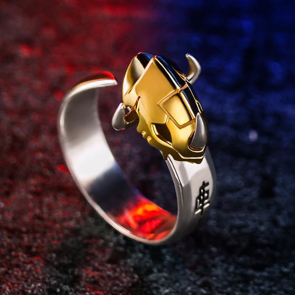 แหวนเงินแท้ Omegamon Digimon Ring