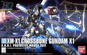 HGUC187 Gundam Crossbone X1 1800y