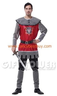 ชุดแฟนซีผู้ชาย นักรบโรมัน กษัตริย์โรมัน Roman Warrior ขนาดฟรีไซด์ (คู่กับชุดเด็กรุ่น FB11050)