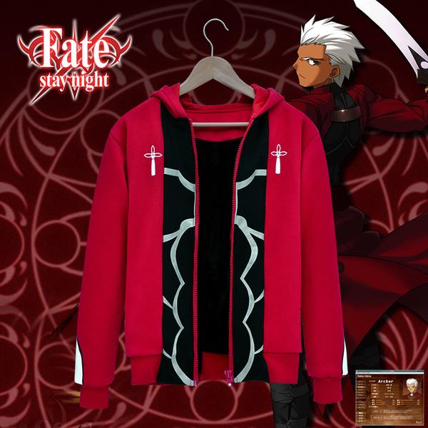 เสื้อฮู้ดกันหนาว Fate Stay Night มหาสงครามจอกศักดิ์สิทธิ์