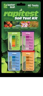 Aชุดตรวจวิเคราะห์ดิน N,P,K และ pH Rapitest Soil test kit รับประกันของแท้ จาก USA ไม่แท้ยินดีคืนเงิน
