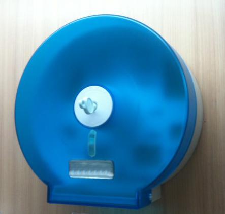 กล่องใส่กระดาษทิชชู สีฟ้า