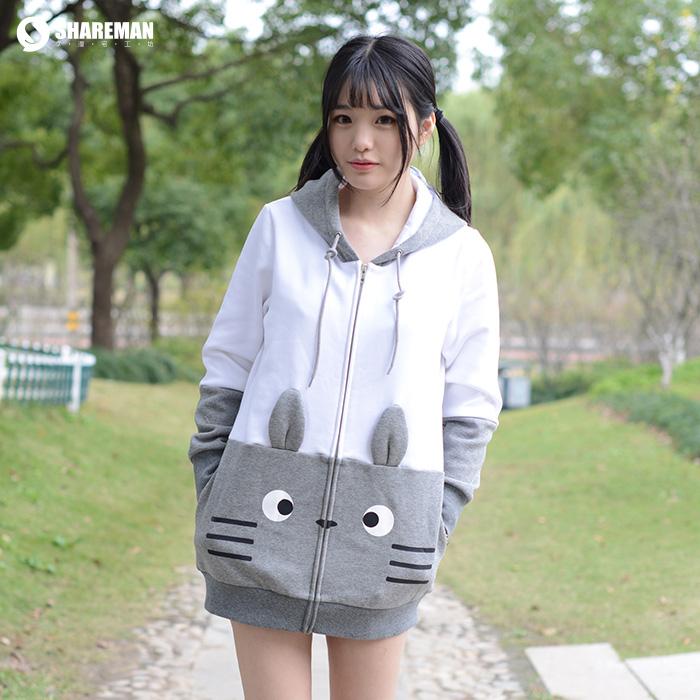 เสื้อฮู้ดกันหนาวโทโทโร่ (My Neighbor Totoro)