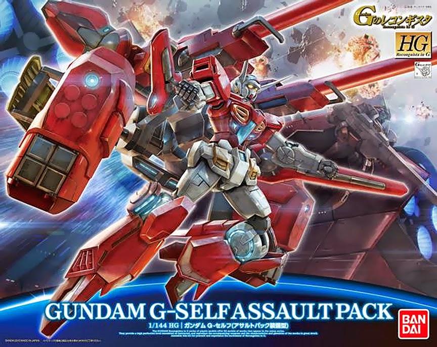 HG GS12 1/144 G-Self Assault Pack